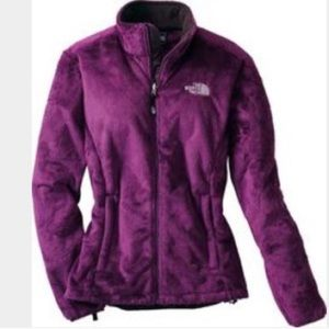 The North Face// fuzzy jacket size large